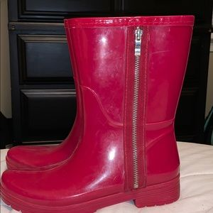 Red Rampage Rainboots